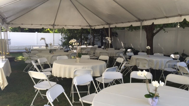 residential tent package
